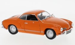 Modellauto - <strong>VW</strong> Karmann Ghia, oranje, 1962<br /><br />WhiteBox, 1:43<br />Nr. 194611