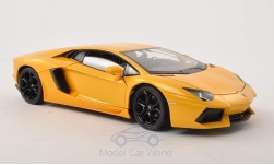 Modellino - <strong>Lamborghini</strong> Aventador LP 700-4, metallic-giallo<br /><br />Welly, 1:24<br />n. 194628