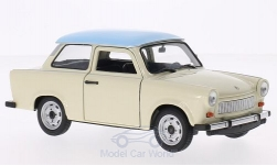 Modelcar - <strong>Trabant</strong> 601, beige/light blue<br /><br />Welly, 1:24<br />No. 194634