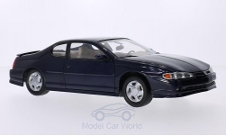 Modellauto - <strong>Chevrolet</strong> Monte Carlo SS, dunkelblau, 2000<br /><br />Sun Star, 1:18<br />Nr. 194686