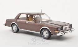 Modellauto - <strong>Dodge</strong> Diplomat, metallic-bruin, 1985<br /><br />American Heritage Models, 1:43<br />Nr. 195599