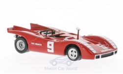 Modellauto - <strong>Abarth</strong> SP 2000, No.9, GP del Mugello, N.Vaccarella, 1970<br /><br />Best, 1:43<br />Nr. 195759