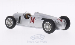 Modellauto - <strong>Auto Union</strong> Typ C, No.14, GP Ungarn, A.Varzi, 1936<br /><br />Minichamps, 1:43<br />Nr. 196512