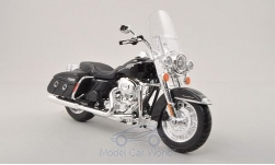 Modellauto - <strong>Harley Davidson</strong> FLHRC Road King Classic, schwarz, 2013<br /><br />Maisto, 1:12<br />Nr. 196663