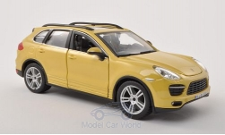 Modelcar - <strong>Porsche</strong> Cayenne (92A) Turbo, yellow<br /><br />Bburago, 1:24<br />No. 196828