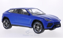 Modelcar - <strong>Lamborghini</strong> Urus metallic-blue, doors and hoods closed, 2012<br /><br />MCG, 1:18<br />No. 197230