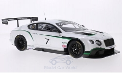 Modellauto - <strong>Bentley</strong> Continentaal GT3, No.7, Goodwood Festival of Snelheid, 2013<br /><br />TrueScale Miniatures, 1:18<br />Nr. 197595