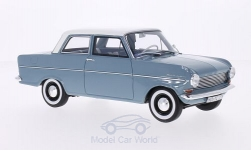 Modelcar - <strong>Opel</strong> Kadett A, blue/white, 1962<br /><br />BoS-Models, 1:18<br />No. 197840