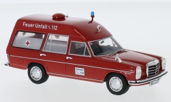 Modellauto - <strong>Mercedes</strong> 220 D (W115) Binz Ambulanz<br /><br />Neo, 1:43<br />Nr. 197988