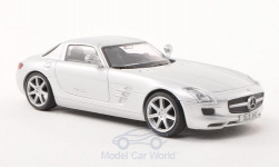 Modellauto - <strong>Mercedes</strong> SLS AMG (C197), zilver, zonder Vitrine, 2010<br /><br />SpecialC.-16, 1:43<br />Nr. 198085