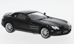 Modelcar - <strong>Mercedes</strong> SLR McLaren (C199), black, without showcase<br /><br />SpecialC.-16, 1:43<br />No. 198086