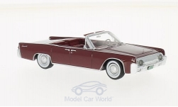 Modellauto - <strong>Lincoln</strong> Continental 53A Convertible dunkelrot, 1961<br /><br />Neo, 1:43<br />Nr. 198300