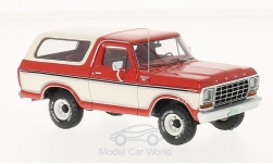 Modellauto - <strong>Ford</strong> Bronco, rot/weiss, 1978<br /><br />Neo, 1:43<br />Nr. 198306
