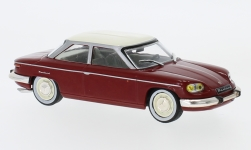 Modellauto - <strong>Panhard</strong> 24 BT, dunkelrot/hellbeige, 1964<br /><br />WhiteBox, 1:43<br />Nr. 198336