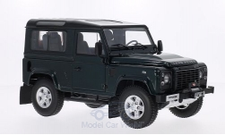 Modelcar - <strong>Land Rover</strong> Defender 90, green<br /><br />Kyosho, 1:18<br />No. 198626