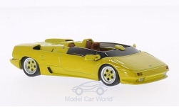Modelcar - <strong>Lamborghini</strong> Diablo Roadster prototype, dunkelgelb, 1992<br /><br />WhiteBox, 1:43<br />No. 198863