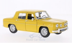 Modellauto - <strong>Renault</strong> R8 Gordini, gelb/weiss<br /><br />Welly, 1:24<br />Nr. 199039