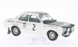 Modelcar - <strong>Ford</strong> Escort I RS 1600, No.2, Withers of Winsford, Rallye Manx, R.Clark/H.Liddon, 1971<br /><br />Trofeu, 1:43<br />No. 199202