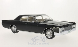 ModelCar - <strong>Lincoln</strong> Continental, schwarz, ohne Vitrine, 1968<br /><br />BoS-Models, 1:18<br />No. 199425