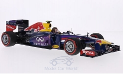 Modelcar - <strong>Red Bull</strong> Renault RB9, No.2, Red Bull Racing, Infiniti, formula 1, GP Brasil, including figure of driver, M.Webber, 2013<br /><br />Minichamps, 1:18<br />No. 199737