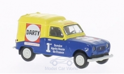 Modelcar - <strong>Renault</strong> R4 Fourgonnette, Darty<br /><br />Brekina, 1:87<br />No. 199882