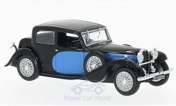 Modellino - <strong>Bugatti</strong> 57 Galibier, blu/nero, 1934<br /><br />WhiteBox, 1:43<br />n. 199984