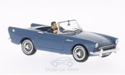 ModelCar - <strong>Sunbeam</strong> Alpine, blau, RHD, James Bond 007, Dr.No, ohne Vitrine, 1962<br /><br />SpecialC.-007, 1:43<br />No. 200074
