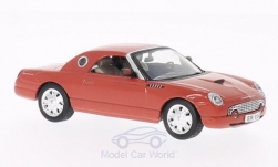 Modellauto - <strong>Ford</strong> Thunderbird, rot, James Bond 007, Stirb an einem anderen Tag, ohne Vitrine, 2002<br /><br />SpecialC.-007, 1:43<br />Nr. 200076