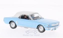 Modellauto - <strong>Ford</strong> Mustang Convertible, hellblau/weiss, James Bond 007, Feuerball, ohne Vitrine, 1965<br /><br />SpecialC.-007, 1:43<br />Nr. 200077