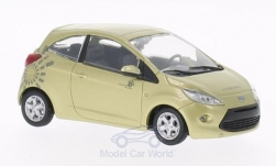 Modellauto - <strong>Ford</strong> Ka, gold, James Bond 007, Ein Quantum Trost, ohne Vitrine, 2008<br /><br />SpecialC.-007, 1:43<br />Nr. 200078
