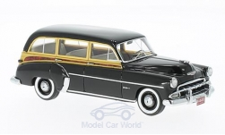 Modelcar - <strong>Chevrolet</strong> Styleline DeLuxe Station Wagon, black/wood optics, 1952<br /><br />Neo, 1:43<br />No. 200171