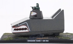 Modellauto - <strong>Dragon</strong> Tank, James Bond 007, Dr. No, ohne Vitrine<br /><br />SpecialC.-007, 1:43<br />Nr. 200272