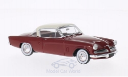 Modelcar - <strong>Studebaker</strong> Champion, dark red, 1953<br /><br />Spark, 1:43<br />No. 200624