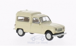 Modelcar - <strong>Renault</strong> R4 Fourgonnette, with Seitenfenstern beige<br /><br />Brekina, 1:87<br />No. 200682