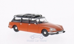 Modellauto - <strong>Citroen</strong> DS Break, orange/schwarz<br /><br />Brekina, 1:87<br />Nr. 200723