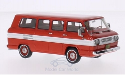 Modellauto - <strong>Chevrolet</strong> Corvair Window Van, rot/weiss, 1963<br /><br />Neo, 1:43<br />Nr. 200794