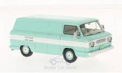 Modelcar - <strong>Chevrolet</strong> Corvair light turquois/white, box wagon, 1963<br /><br />Neo, 1:43<br />No. 200796