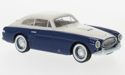 voiture miniature - <strong>Cunningham</strong> C-3 Continental Coupe by Vignale, bleu foncé/blanche, 1952<br /><br />Neo, 1:43<br />N° 200827