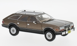 Modelcar - <strong>AMC</strong> Eagle Wagon, metallic-brown, 1981<br /><br />Neo, 1:43<br />No. 200835
