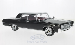 Modelcar - <strong>Imperial</strong> Crown 4-Door, black, without showcase, 1965<br /><br />BoS-Models, 1:18<br />No. 200854