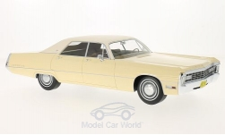 Modelcar - <strong>Chrysler</strong> Imperial LeBaron 4-door Hardtop, dunkelbeige/light beige, 1971<br /><br />BoS-Models, 1:18<br />No. 200856