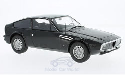 Modelcar - <strong>Alfa Romeo</strong> GT 1300 Junior Zagato, black, without showcase<br /><br />BoS-Models, 1:18<br />No. 200858
