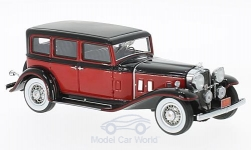 Modelcar - <strong>Stutz</strong> SV-16 Sedan, red/black, 1933<br /><br />Neo, 1:43<br />No. 201029