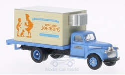 Modellauto - <strong>Chevrolet</strong> 41/46, Howard Johnsons, Lieferwagen, Kühlkoffer-LKW <br /><br />Classic Metal Works, 1:87<br />Nr. 201066