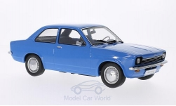 Modelcar - <strong>Opel</strong> Kadett C Limousine, blue, doors and hoods are nicht to open<br /><br />KK-Scale, 1:18<br />No. 201207