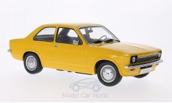 Modelcar - <strong>Opel</strong> Kadett C Limousine, dunkelgelb, doors and hoods are nicht to open<br /><br />KK-Scale, 1:18<br />No. 201208