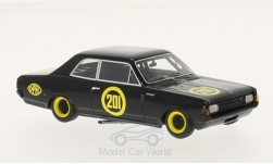 Modelcar - <strong>Opel</strong> Rekord C, No.201, Schwarze Witwe, 1967<br /><br />BoS-Models, 1:43<br />No. 201319