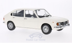 Modelcar - <strong>Alfa Romeo</strong> Alfasud 1.3, white, doors and hoods are nicht to open<br /><br />KK-Scale, 1:18<br />No. 201910