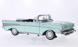 Modellauto - <strong>Chevrolet</strong> Bel Air Convertible, hellgrün, 1957<br /><br />Motormax, 1:18<br />Nr. 201919