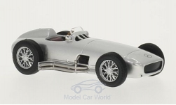 Modellauto - <strong>Mercedes</strong> W 196, silber, 1954<br /><br />WhiteBox, 1:43<br />Nr. 201996